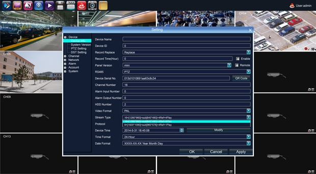 AX-N0808-mini AxyCam IP видеорегистратор на 8 каналов - 3