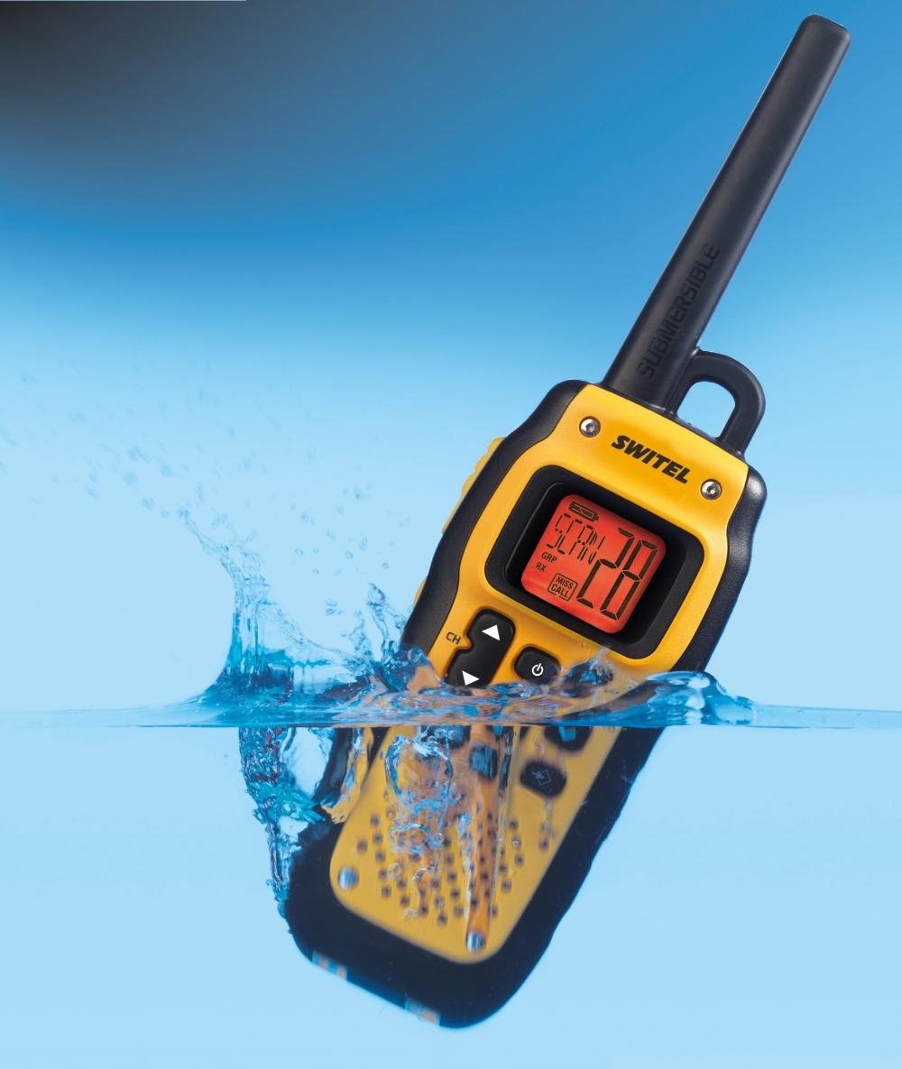 WTF800 Switel водонепроницаемая рация - 1