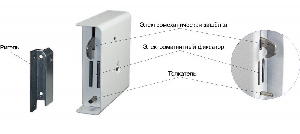 ШЕРИФ-8.1 (НЗ-С) Промикс - Электромеханический замок  - 1