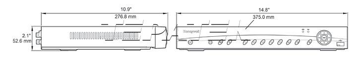 HUS-NVR-7128H-D Honeywell сетевой видеорегистратор - 4