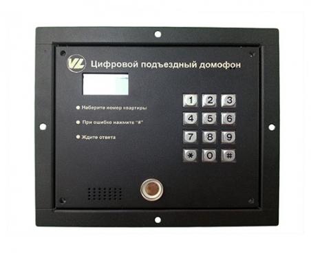 VL TM Videolife цифровой подъездный домофон с TM считывателем.